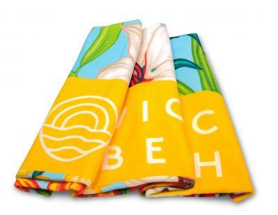 Vionic Beach Light Blue Floral Towel